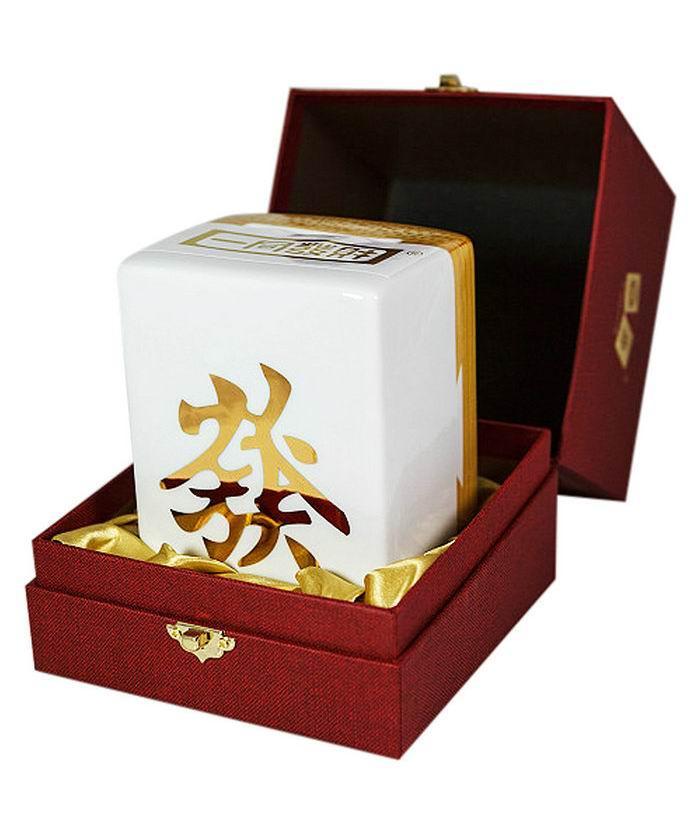 """一同发财""""發""""高粱酒礼盒58度(700ML)"""