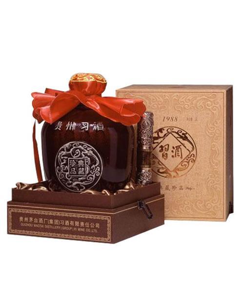 习酒酱香型典藏珍品(坛装)(3000ML)53度