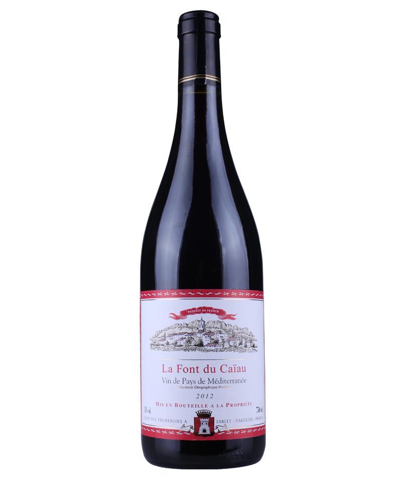 法国拉芳迪佳红葡萄酒