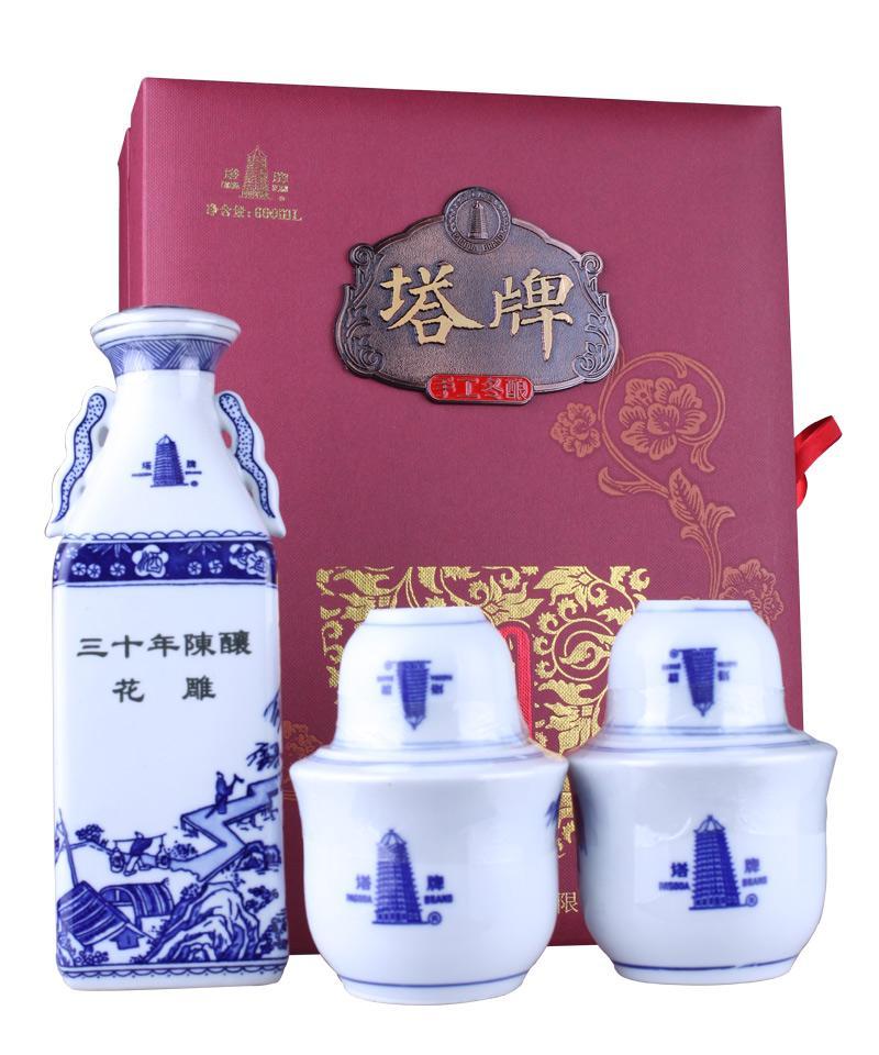 塔牌三十年陈酿花雕酒(锦盒)