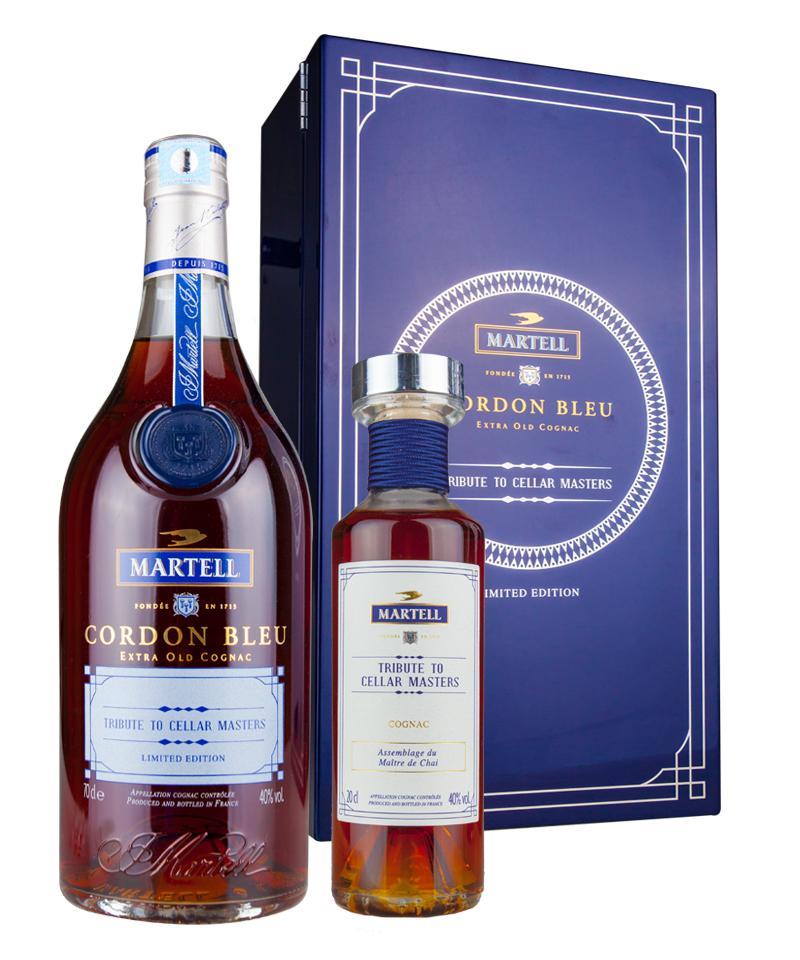 蓝带马爹利xo_马爹利蓝带传世盛颂首席酿酒师限量版(700ML+200ML)Martell Cordon Bleu ...