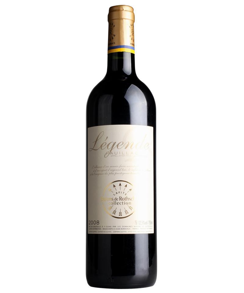 拉菲传奇波亚克红葡萄酒