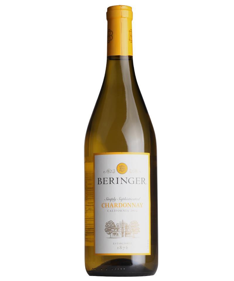 贝灵哲加州精选莎当妮白葡萄酒