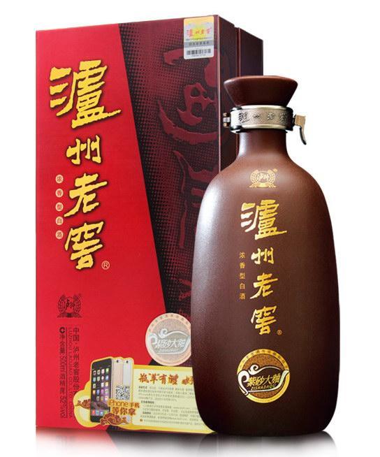 泸州老窖紫砂大曲(紫砂瓶)52度(500ML)