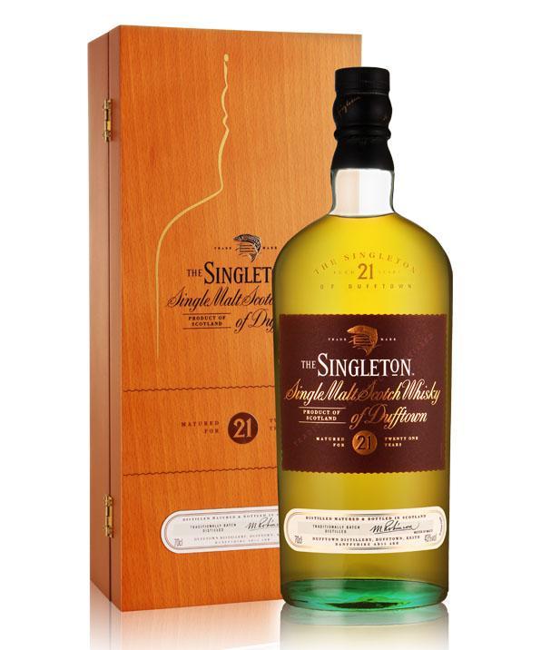 苏格登21年达夫镇单一纯麦威士忌(700ML)