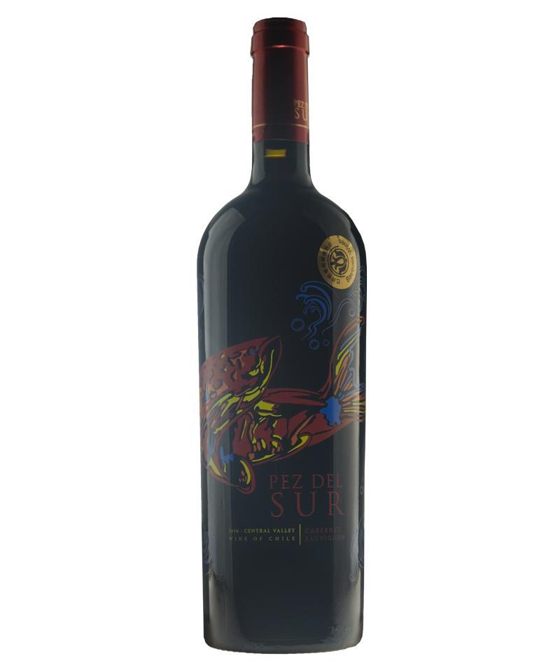 南龙鱼传统赤霞珠红葡萄酒