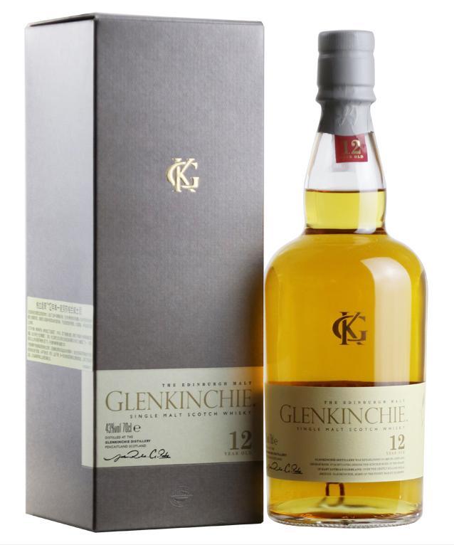 格兰昆奇12年单一麦芽威士忌(700ML)