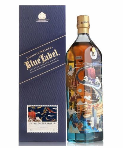 尊尼获加(蓝牌)(丝路征程)限量版威士忌(750ML)