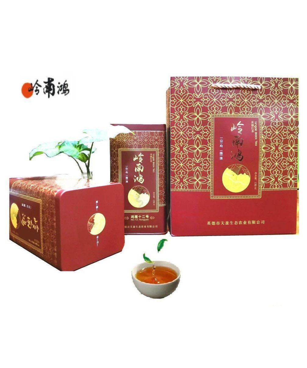 岭南鸿鸿雁12号英德春红茶罐装150g