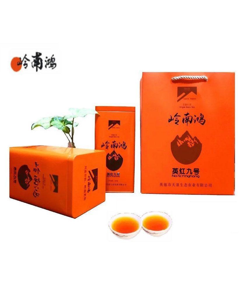 岭南鸿英红九号春红茶罐装150g