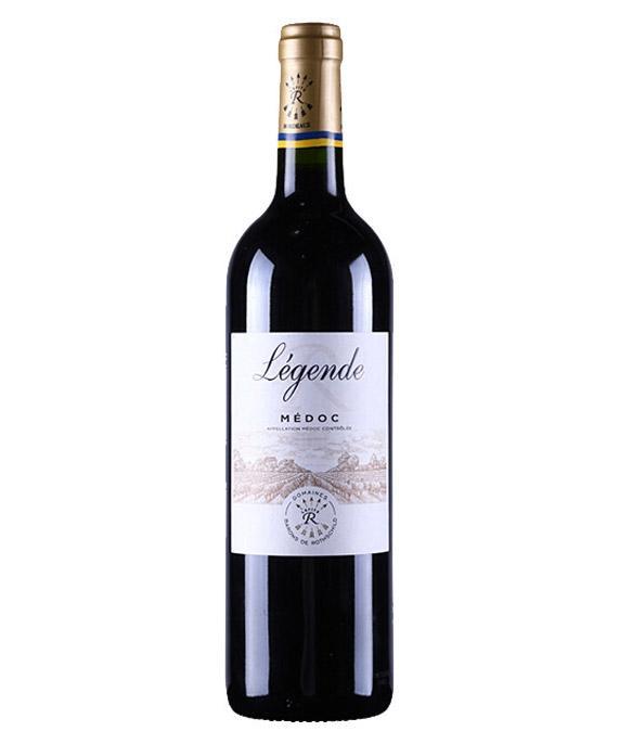 拉菲传奇梅多克红葡萄酒