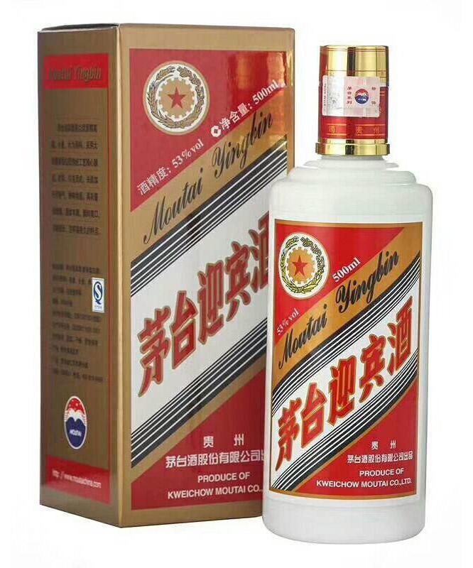 茅台迎宾酒53度(500ML)