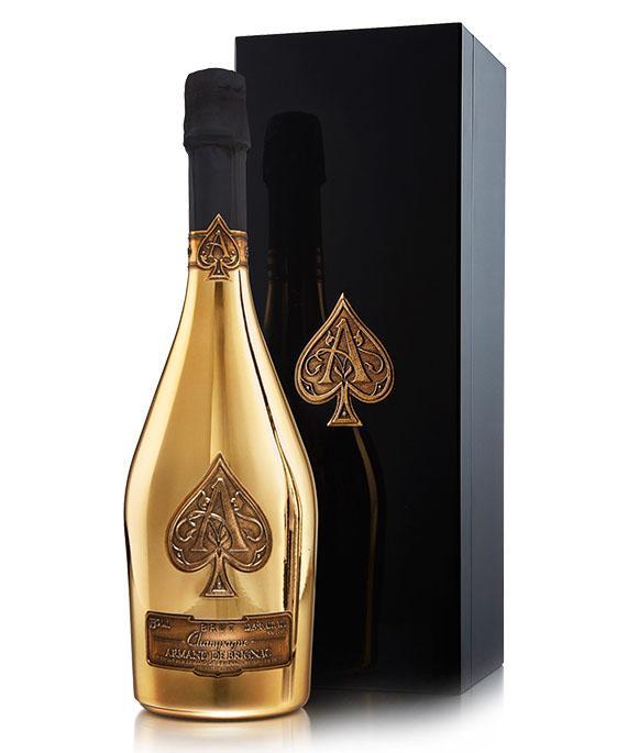 法国黑桃A黄金版香槟礼盒(750ML)