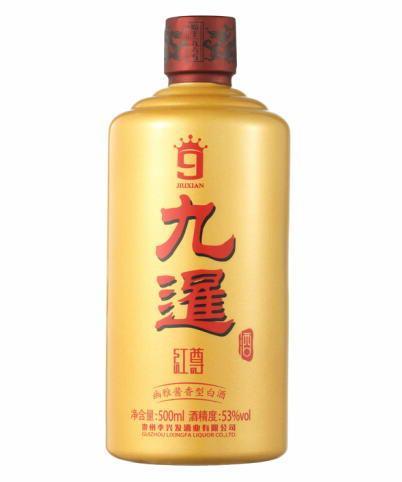 九暹酒幽雅酱香红尊53度(500ML)