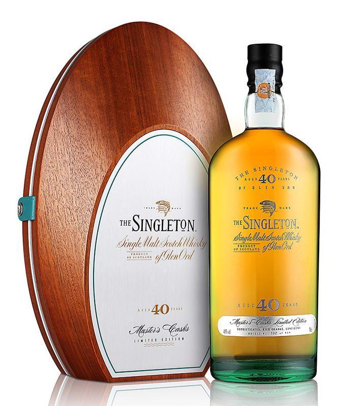 苏格登40年单一麦芽威士忌(700ML)