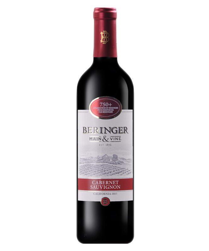 贝灵哲加州精选加本力苏维翁红葡萄酒
