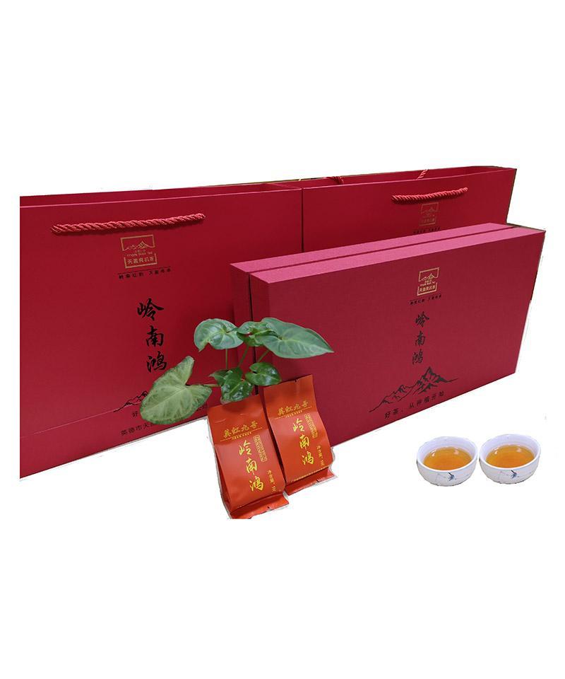 岭南鸿鸿雁12号英德春红茶礼盒180g