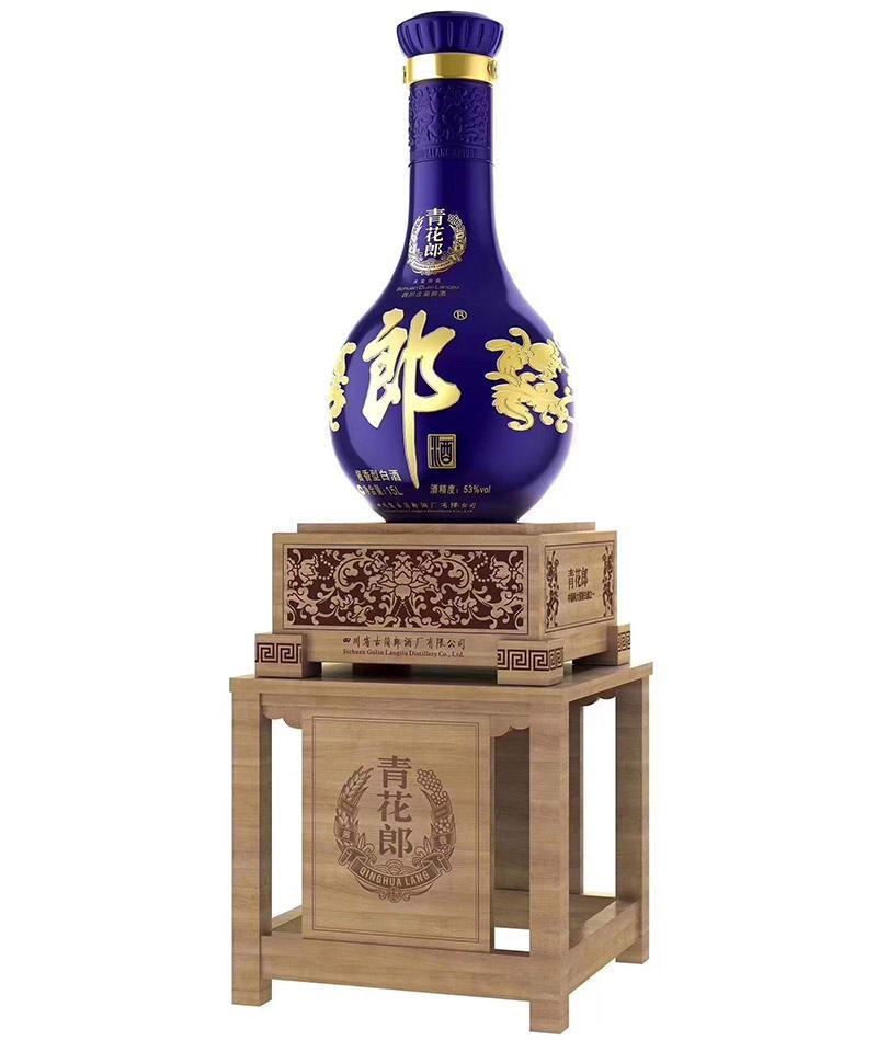 郎酒青花郎大坛酒53度(15L)