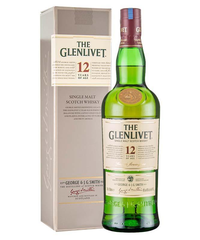 格兰威特12年陈酿纯麦威士忌(700ML)