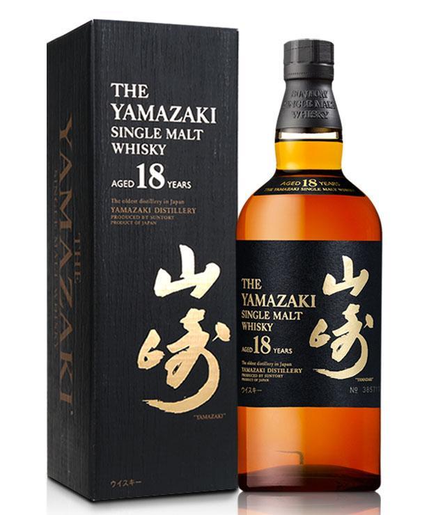 山崎18年单一麦芽威士忌(700ML)