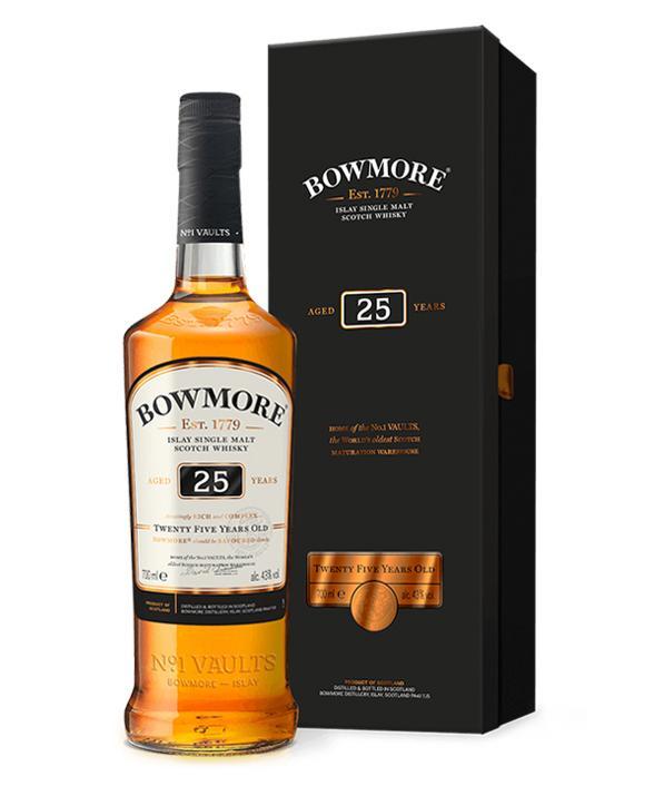 波摩25年单一麦芽威士忌(700ML)
