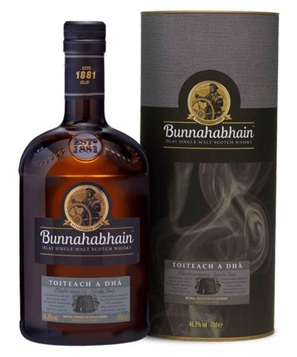 布纳哈本泥煤续曲单一麦芽威士忌(700ML)
