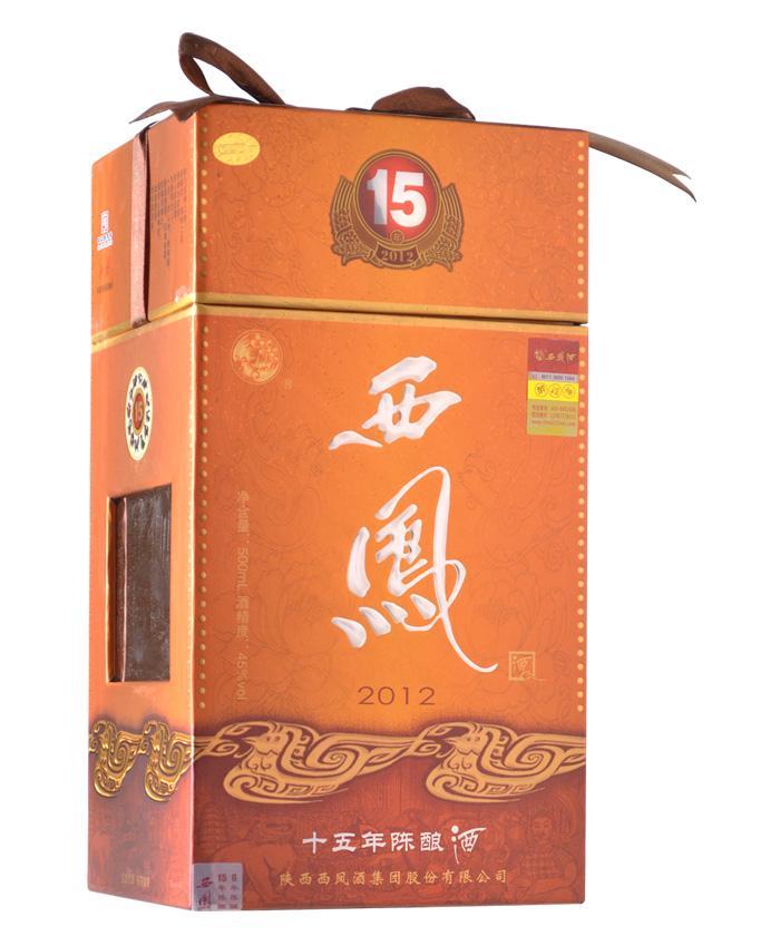 西凤酒十五年陈酿(凤香兼浓香)