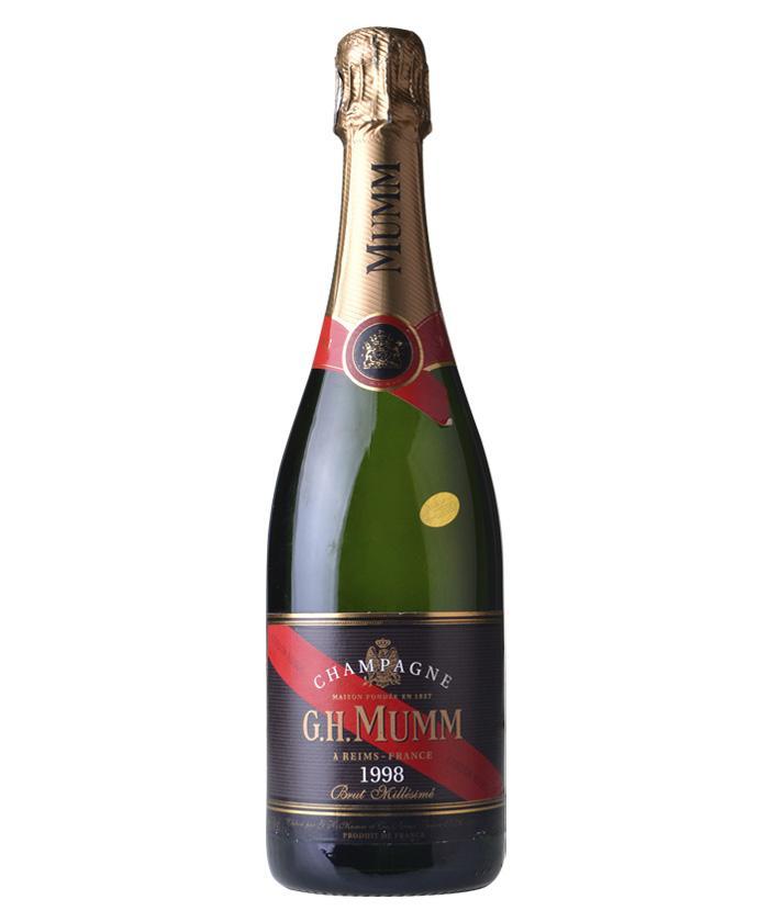 玛姆红带香槟1998年干型