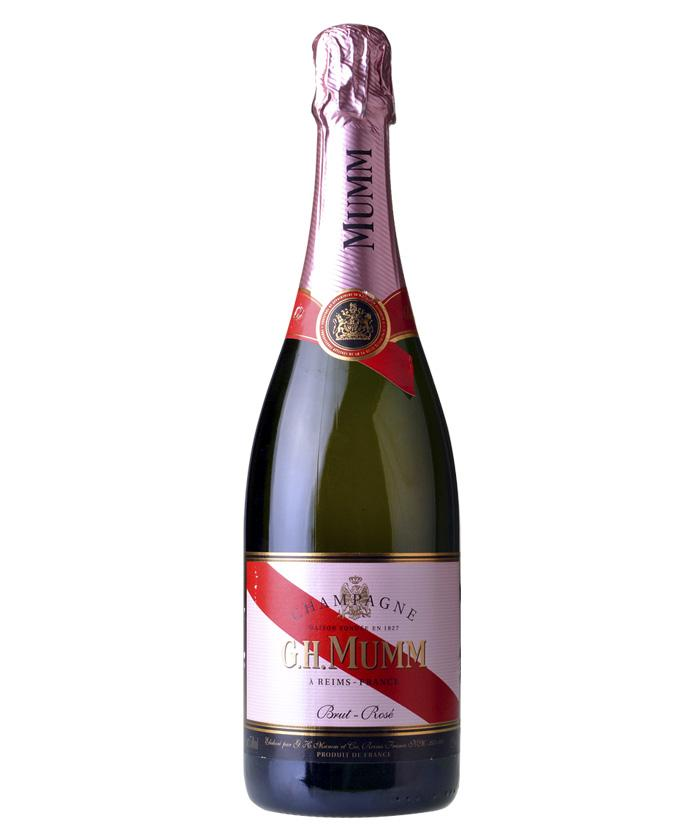 玛姆红带(玫瑰)香槟干型
