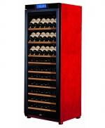 美晶W330B双温区(80-100瓶)简约实木酒柜